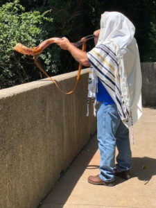 Yeminite Shofar and Tallit