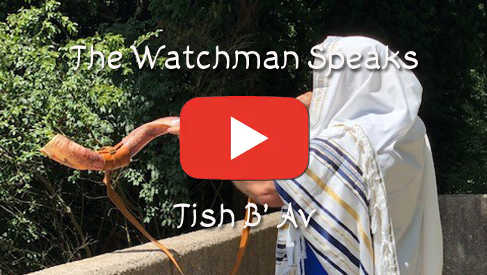 The Old Watchman Speaks - Tish B' Av