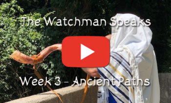 The Watchman Speaks – Week 3 – Ancient Paths