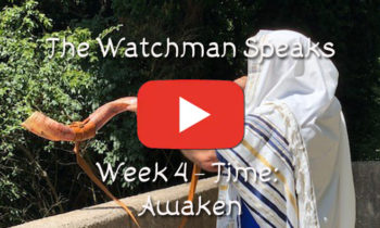 The Watchman Speaks – Week 4 – Time: Awaken